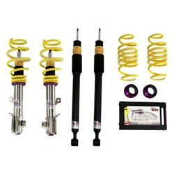 For Ford Fiesta 14-19 Coilover Kit 0.2-1.2 X 0.2-1 V3 Inox-line Front And Rear