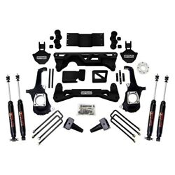 For Chevy Silverado 3500 Hd 11-18 5-6 X 4 Front And Rear Complete Big Lift Kit