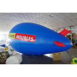 8m 26ft Giant Inflatable Helium Flying Balloon Advertising Blimp Free Logo A