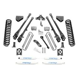 For Ford F-250 Super Duty 05-07 6 X 6 4 Link Front And Rear Suspension Lift Kit