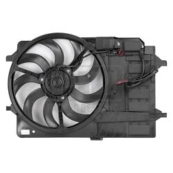 For Mini Cooper 05-08 Pacific Best Dual Radiator And Condenser Fan Assembly