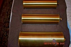 Herschede Grandfather Clock Weights With Inserts For 9 Tube For Project