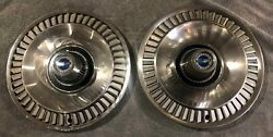 1964 Ford Galaxie 14 Deluxe Chrome Hubcaps