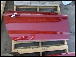 2015-2020 Ford Mustang Gt Passenger Right Rh Ruby Red Coupe Door Assembly Oem