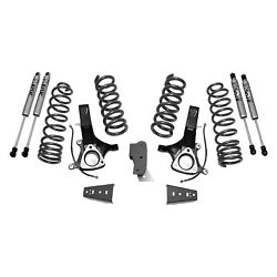 For Ram 1500 14-17 6.5 X 6.5 Front And Rear Suspension Lift Kit