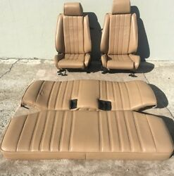 Bmw E30 325i/ 318i Is And I New Leather Seats Set Front And Back 1983-92 2900