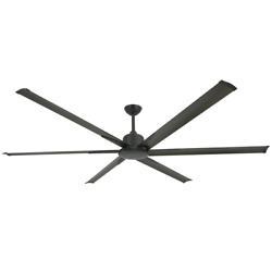 Titan Ii 84 In. Indoor/outdoor Oil Rubbed Bronze Ceiling Fan With Remote Control