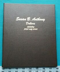 1979-1999 Susan B. Anthony Dollars Including Proof Only Issues Dansco Book 5483