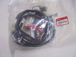 Genuine Honda Ignition Switch Panel Assembly With Harness 39552-zw7-120ah New