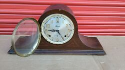 Antique Sessions Westminster Chiming Clock 8-day, Key-wind