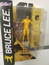 Bruce Lee Diamond Select Deluxe Yellow Jumpsuit Game of Death Action Figure