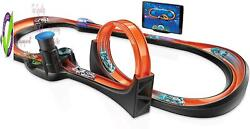 Hot Wheels Id Smart Track Starter Kit With 3 Exclusive Cars Track Pieces And Ho