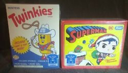 Funko Pop And Tee Twinkie The Kid And Superman Flocked Size Xl