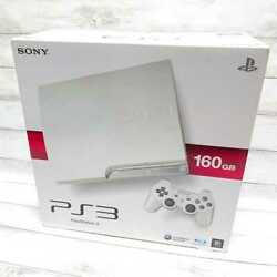 New Sony Ps3 Playstation 3 Console System Classic White 160gb Cech-2500al