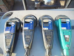 Lot Of 4 Used Duncan Parking Meter Body