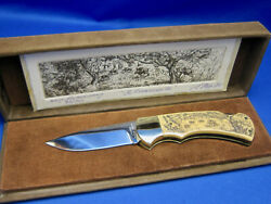 4 Star 715 Arno Hopp Limited Edition Knife 072/300 Made In Solingen Germany