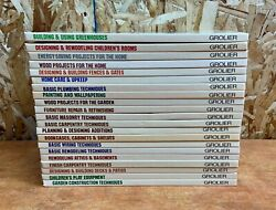 Grolierand039s Home Repair Books/ Manuals Hc 21 Vol Set Home Owning Made Easy 1987