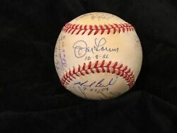 Perfect Game Signed Baseball With15 Signatures Loa Psa/dna Rare Perfection