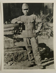 Wwii Japanese Soldier 1st Class Private Barrack Shoes 8 X 10 Photo Ww2