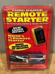 Bulldog Security Remote Starter with Keyless Entry and Trunk Release RS114