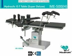 New Me -500 H Hydraulic Surgical Operation Theater Operating Detachable Table