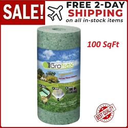 100 Sqft Roll Year-round Green Grass Seed Mixture Mat Roll For Lawn Proven