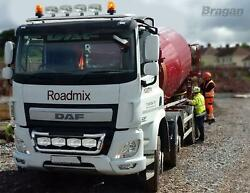 Roof Bar + Spots + Led + Beacons + Air Horns + Clamp For Daf Cf Low 2014+ Truck