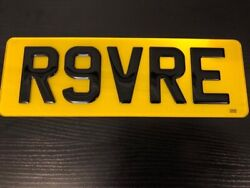 Cherished Private Number Plate R9vre Revere Range Rover Sport Land Rover Bentley