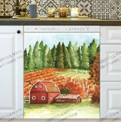 Kitchen Dishwasher Magnet - Old Country Farmhouse