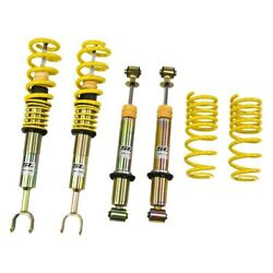 For Audi S4 00-01 1.6-2.8 X 1.6-2.8 St X Front And Rear Lowering Coilover Kit