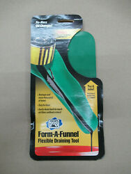 PIG 18509 FORM A FUNNEL FLEXIBLE DRAINING TOOL SMALL FOR LAWN amp; GARDEN ENGINES $14.84