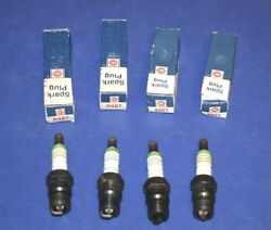 4 Ac Delco R46t Spark Plugs 5613357 1970 - 1974 Buick Chevy Olds 6 Cylinder 250
