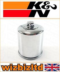 Kawasaki Zg1400 Concours Abs 2012-2014 [kandn Chrome Replacement Oil Filter]