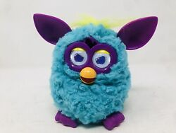 Furby Boom Blue Purple And Yellow Hair Interactive Talking Tested And Works