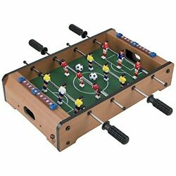 Tabletop Foosball Table- Portable Mini Table Football / Soccer Game Set With Two