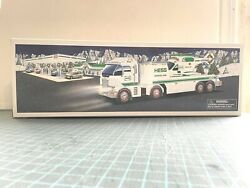 2006 Hess Toy Truck And Helicopter New In Box Lights And Sounds Never Displayed