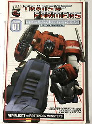 Transformers Generation One No. 1, Vol. 1 More Than Meets The Eye Official Gui