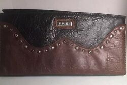 Miche Classic Interchangeable Shell Brandi Retired Black Brown Studded Gorgeous