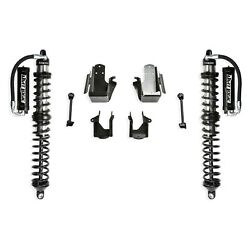 For Jeep Wrangler 2018-2019 Fabtech 5 Dirt Logic 2.5 Front Lift Coilover Kit