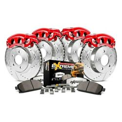 For Chevy Silverado 3500 Hd 11 Brake Kit Power Stop 1-click Extreme Z36 Truck And