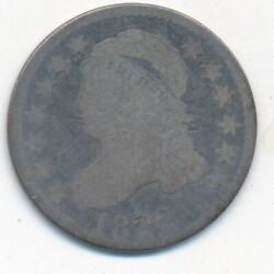 1822 Capped Bust Silver Dime-rare Date Circulated Silver Dime-ships Free