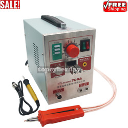 S709a 2 In 1 110v Battery Pulse Spot Welder And Soldering Station With Welding Pen