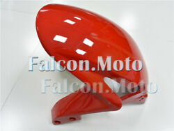 Front Fender Mudguard Fairing Fit For 2007-2008 Honda Cbr 600rr F5 Injection Red