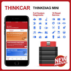 Thinkdiag Mini Scanner Obd2 Bluetooth Full System Scan For Ios And Android Abs Srs