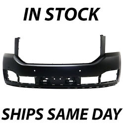 New Primered - Front Bumper Cover Fascia For 2015-2020 Gmc Yukon W/ Park Assist