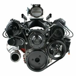 Holley 20-190bk Premium Mid-mount Complete Accessory System