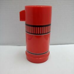 Vintage W.t. Grant Co. Grant Maid 1/2 Pint Red Thermos Bottle No.69344c Complete