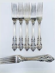 10 Towle Solid Sterling Silver El Grandee Place Forks