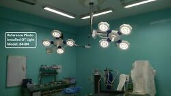 Ceiling Ot Led Surgical Lights Operation Theater Light Gynecology Star 84+84 Led