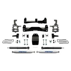 For Ford F-150 14 Fabtech 4 X 2.25 Basic Front And Rear Suspension Lift Kit
